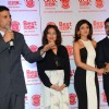 Akshay Kumar interacts with the audience at the Launch of Shilpa Shetty's New Home Shop Venture
