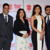 Celebs pose for the media at the Launch of Shilpa Shetty's New Home Shop Venture