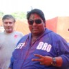Ganesh Acharya poses for the media at Holi Celebrations