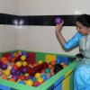 Asha Bhosle at the Inauguration of Small Steps Morris Autism and Child Development Center
