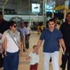Aamir Khan and Kiran Rao were snapped with their son Azad at Airport