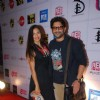 Arshad Warsi poses with wife at Ghanta Awards 2015