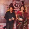 Anup Jalota and Kunickaa Lall pose for the media at the Premier of the Play Mera Woh Matlab Nahi Tha