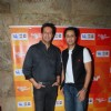 Sulaiman Merchant and Salim Merchant pose for the media at IPL Song Launch