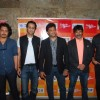 Celebs pose for the media at IPL Song Launch
