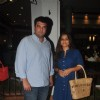 Siddharth Roy Kapur and Vidya Balan at the Censor Issues Meet