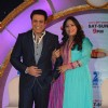 Govinda and Geeta Kapur pose for the media at the Launch of DID Supermoms Season 2