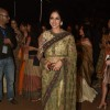 Sridevi poses for the media at LFW Opening Show for Sabyasachi Mukherjee