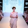 Dia Mirza walks the ramp for Anavila at the Lakme Fashion Week 2015 Day 2