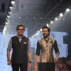 Riteish Deshmukh walks the ramp for Raghavendra Rathore at the Lakme Fashion Week 2015 Day 2