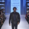 Aditya Roy Kapur walks for Tom Tailor at Lakme Fashion Week 2015 Day 3