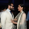 Saif Ali Khan and Kareena Kapoor were snapped at the Grand Finale of Lakme Fashion Week 2015