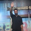 Akshay Kumar waves to the audience at the Trailer Launch of Gabbar Is Back