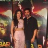 Akshay Kumar and Shruti Haasan pose for the media at the Trailer Launch of Gabbar Is Back