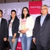 Gul Panag poses with members at the Launch of Mahindra & Discovery's 'Off Road