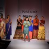 Tanvi Kedia's show at the Amazon India Fashion Week 2015 Day 3