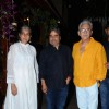 Naseeruddin Shah and Ratna Pathak with Vishal Bharadwaj at the Success Bash of Hunterrr