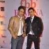 Meet Brothers pose for the media at Femina Miss India Finals Red Carpet