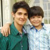 Rohan Mehra poses with Shivansh Kotia at the Completion of 1700 Episodes