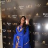 Arpita Khan poses for the media at Shane & Falguni Peacock Preview for Bridal Asia Show