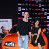 Shibani Kashyap with Rajeev Roda at the Premier of Fast & Furious 7