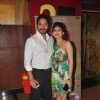 Shreyas Talpade poses with wife Deepti at the Premier of Coffee Aani Barach Kahi