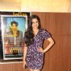 Neha Mahajan poses for the media at the Premier of Coffee Aani Barach Kahi