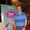 Sachin Khedekar poses for the media at the Premier of Coffee Aani Barach Kahi