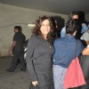 Zoya Akhtar poses for the media at the Special Screening of Detective Byomkesh Bakshy! at Light Box