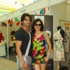 Karanvir Bohra and Teejay Sidhu at Amy Billimoria's Collection Launch