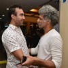 Ranvir Shorey in a chat with Makarand Deshpande at the 50th Show of Ashvin Gidwani's Play