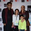 Tanvi Azmi poses with her family at the Red Carpet of 'Mijwan-The Legacy'