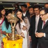 Kajol lights the lamp at the Inauguration of Surya Mother & Child Care Hospital