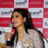 Kajol interacts with the audience at the Inauguration of Surya Mother & Child Care Hospital