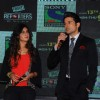 Rajeev Khandelwal and Kritika Kamra interacts at the launch of Sony TV 'Reporters'