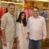 Abu Jaani & Sandeep Khosla poses for camera at their Spring Summer Collection Launch