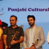 Ayushmann Kurrana and Virender Sehwag at Punjabi Icon Awards