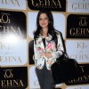 Amy Billimoria at Karan Johar's limited edition holiday collection for Gehna Jewellers