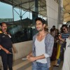 Prateik Babbar winks while Returning From Planet Hollywood