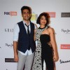 Gulshan Devaiah and Radhika Apte poses together at Grazia Young Fashion Awards