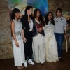 Vidya Balan and Huma Qureshi poses with MWAS actors at Screening of Margarita With a Straw