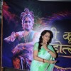 Hema Malini makes a dance pose for the camera at Mathura Mahotsav