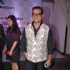 Abhijeet Bhattacharya poses for the media at Videocon Bash