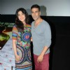 Akshay Kumar, Shruti Hassan Promoting of Gabbar Is Back in Noida