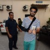 Irrfan, Sonakshi and Ranveer Singh Snapped at Mehboob Studio