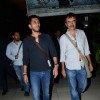 Ritesh Sidhwani and Rajkumar Hirani Snapped at Airport
