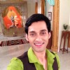 Sumit on the sets of Ajab Gajab Ghar Jamai