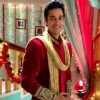 Sumit Vats on the sets of Ajab Gajab Ghar Jamai