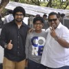 Shankar Mahadevan poses with Sons at the Music Launch of Dil Dhadakne Do