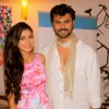 Gaurav Chopra and Akanksha Singh at Launch of New Tv Show 'Gulmohar Grand' by Star Plus